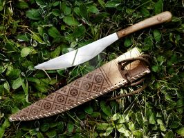 XIII Century knife sheath by enrico-ors-91