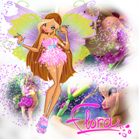 WINX: Flora's Mythix by caboulla