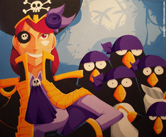 deepwater penguin pirates by buttermonster