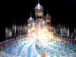 The Yule Ball Ice Sculpture by HollyVampasaurous