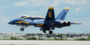 Blue Angels Low Takeoff by GTX-Media