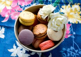 Macaroons II by Sato-photography
