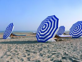 Beach Umbrellas 978199 by StockProject1