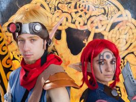 Jak and Ashelin Praxis Cosplay 3 by ASCosplay