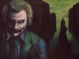 The Joker portrait by Torvald2000
