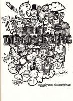 ' Keep discovering ' doodle by VinceOkerman