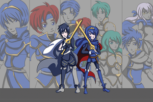 Fire Emblem Lords by khiro