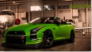 GTR Boss Edition Green-Matte by Rob3rT----Design