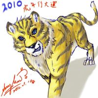 2010 year of the tiger by ShangMoon