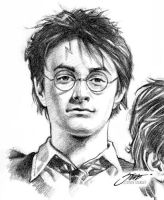 Harry Potter and The Pencil of Wax Part II by SteveStanleyArt