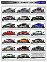 DTM Spotters Guide by andyblackmoredesign