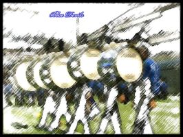 Blue Devils Bass Line March by sevnated