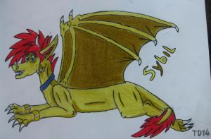 Art Trade with Coillte by Tank-Dragon2014