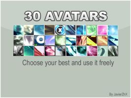 30 Avatars by JavierZhX