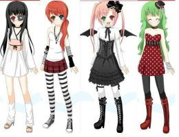 Adoptable Girls (ALL TAKEN) by ThisisADOPTABLES