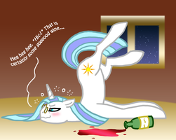 MLP Drunk Morning Star by The-Clockwork-Crow
