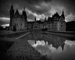Moszna Castle by WiciaQ