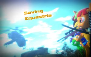 Saving Equestria Poster by TheProdigy100