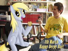 1th March - Happy Derpy Day! by Grivous