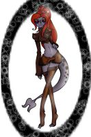 Toxicmongoose's Daitria by axismage