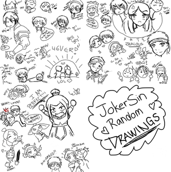 JokerSin Random drawings by Jokersita