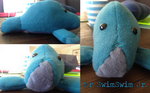 Mr SwimSwim the Manatee by smudge-92