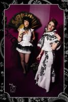 geisha and russian lullaby by BlackNorns
