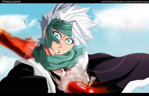 Bleach 550 - Hitsugaya Is Reached | COLOR by StingCunha
