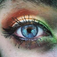 Eye makeup by Wierd-Girl-10