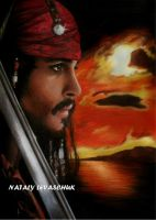 Captain Jack Sparrow by NLevaschuk