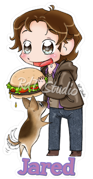 Keychain Jared by HeroesDaughter