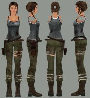 TRLE Tomb Raider reboot outfit by incufan120