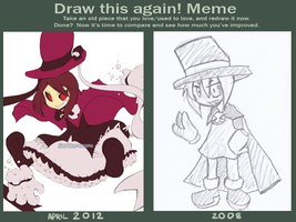 Before and After meme by Sandette
