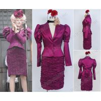 Effie Trinket Dress for The Hunger Games Cosplay by Harryhf