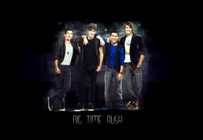 Big Time Rush Poster-Wallpaper by Maxoooow