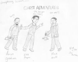 Ghost Adventures Crew by ICK369