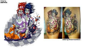 NOFX tat design by Dmitrys