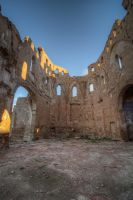 Belchite Destroyed church by Andrei-Oprinca
