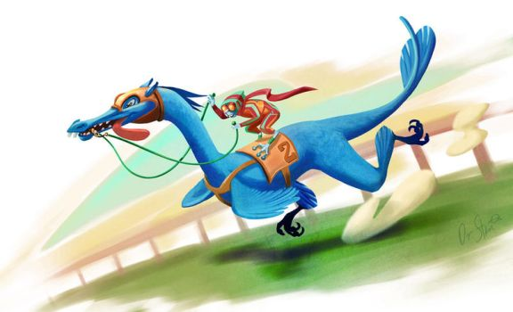 race day by Dr-Stain