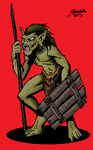 Goblin Speargoblin by Shabazik