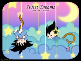 Sweet Dreams DBZ style by zedstef