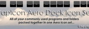 CapIcon Aero Dock Icon Set by CaptTechDude514