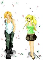 Ed e Winry by Arashy-Chan