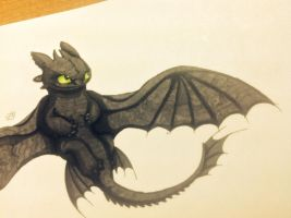 Toothless markers by ISpyrq
