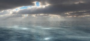 Rays From The Sky by Farisalftasy
