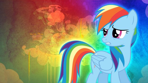 Rainbow Dash Wallpaper (1920 x 1080) by LyraArtstrings