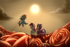 That's a ton of Roses by Ruby-Sunrise
