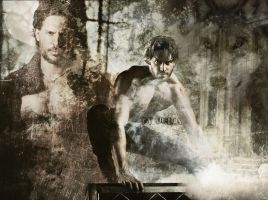 Joe Manganiello by Rylka