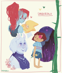 undertale doddles by sachcell
