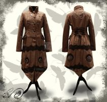 Saturnia Coat by Ermelyn